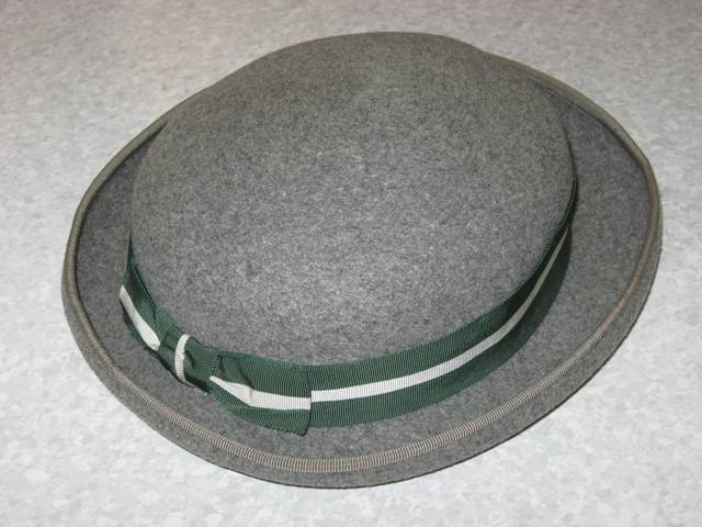 Summer uniform grey hat 1960s
